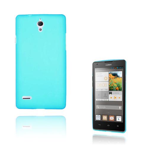 Soft Shell (Ljusblå) Huawei Ascend G700 Skal