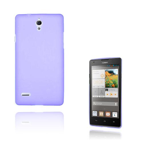 Soft Shell (Lila) Huawei Ascend G700 Skal
