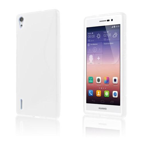 S-Line (Vit) Huawei Ascend P7 Skal