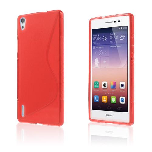 S-Line (Röd) Huawei Ascend P7 Skal