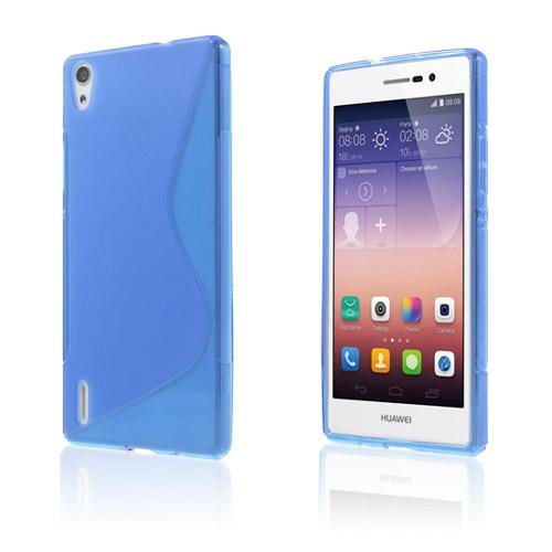 S-Line (Blå) Huawei Ascend P7 Skal