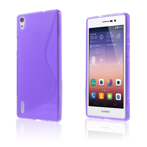 S-Line (Lila) Huawei Ascend P7 Skal