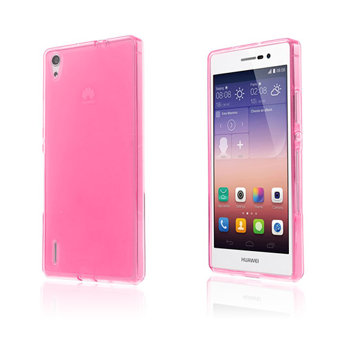 Soft Shell (Rosa) Huawei Ascend P7 Skal