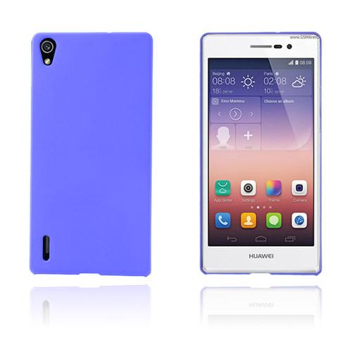 Hard Shell (Blå) Huawei Ascend P7 Skal
