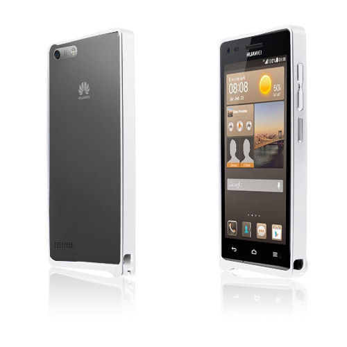 Remes (Silver) Huawei Ascend G6 Metall-Bumper