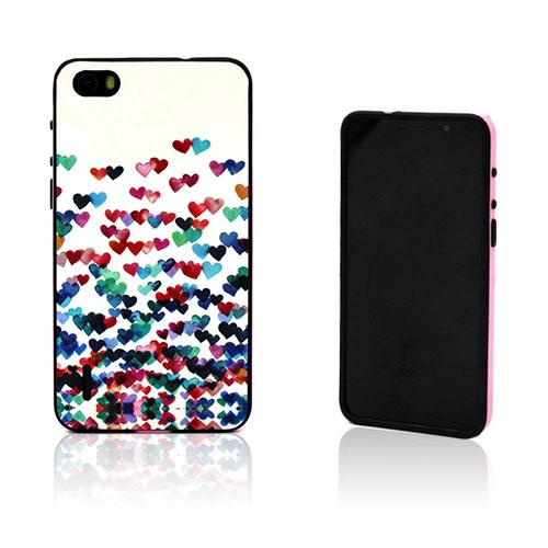 Wester Edge Huawei Honor 6 Skal – Färgrik Hjärtan
