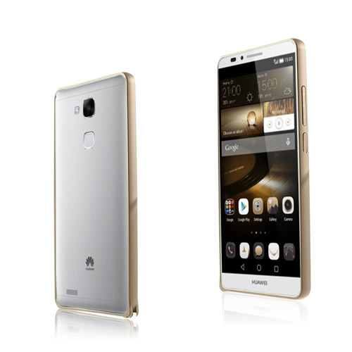 Remes Huawei Ascend Mate7 Metal Bumper – Champagne