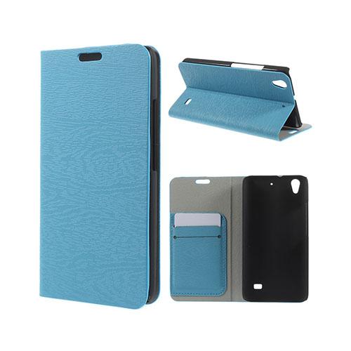 Mankell Huawei Ascend G620S Läder Fodral med Korthållare – Blå
