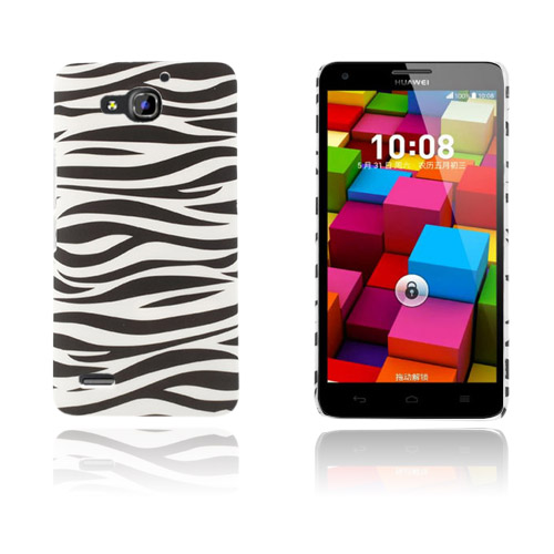 Persson Huawei Ascend G750 Hårt Skal – Zebra Ränder