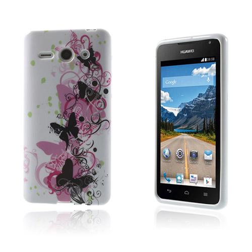 Westergaard Huawei Ascend Y530 – Svart & Rosa Fjärilar