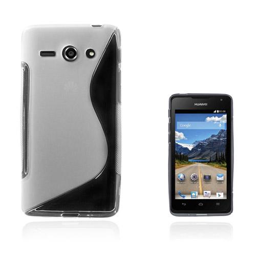 Lagerlöf Huawei Ascend Y530 Skal – Genomskinlig