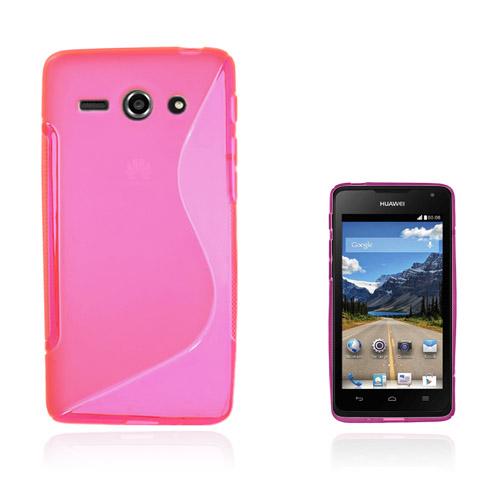 Lagerlöf Huawei Ascend Y530 Skal – Het Rosa