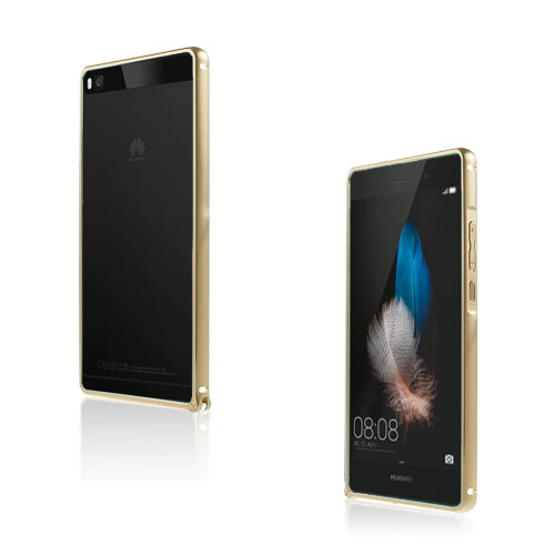 Remes Huawei Ascend P8 Metall Bumper – Champagne