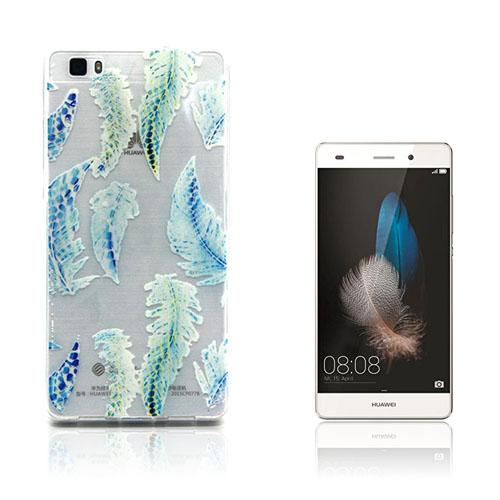 Westergaard Huawei Ascend P8 Lite Skal – Fjädrar Mönster