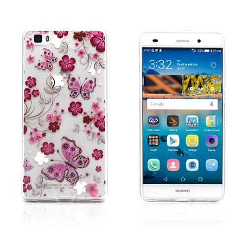 Westergaard Huawei Ascend P8 Lite Skal – Fjäril och Blomma