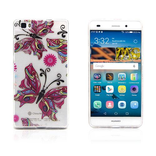 Westergaard Huawei Ascend P8 Lite Skal – Färgrik Fjäril
