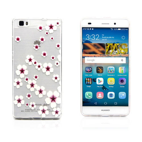 Westergaard Huawei Ascend P8 Lite Skal – Elegant Blommor
