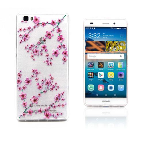 Westergaard Huawei Ascend P8 Lite Skal – Plommon Blomma