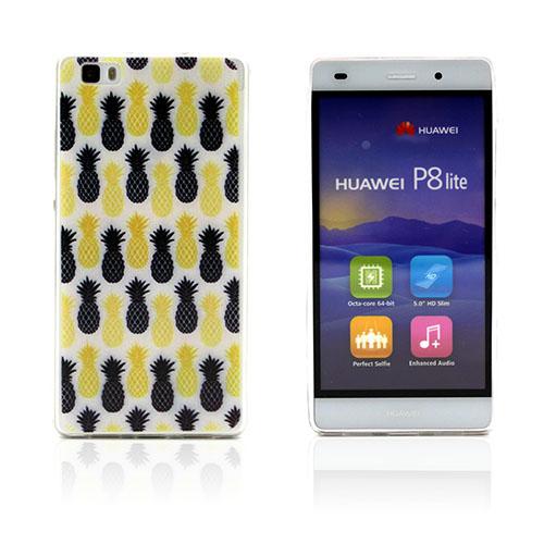 Westergaard Huawei Ascend P8 Lite Skal – Färgrik Ananas