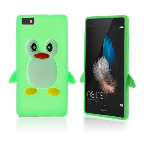 Hauger Huawei Ascend P8 Lite Skal – Grön
