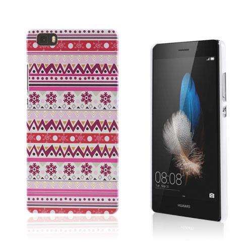 Christensen Mönster Huawei Ascend P8 Lite Skal – Tribal Snowflake
