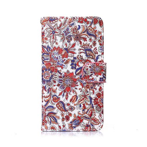 Moberg Huawei Ascend P8 Lite Fodral – Färgrik Blommor