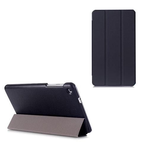 Gaarder Lines Huawei MediaPad M1 8.0 Läder Flip Fodral – Svart