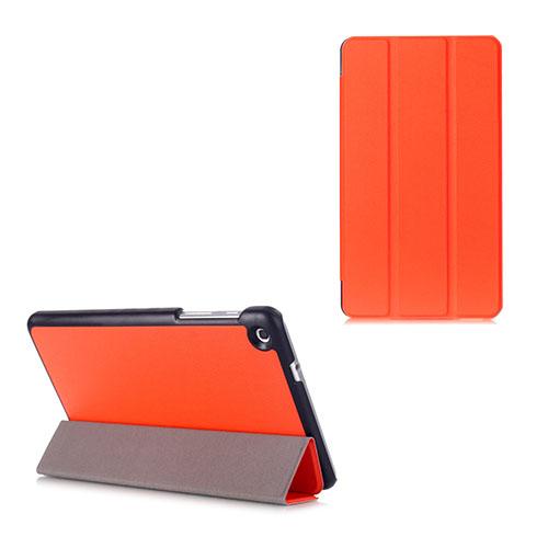 Gaarder Lines Huawei MediaPad M1 8.0 Läder Flip Fodral – Orange