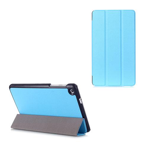 Gaarder Lines Huawei MediaPad M1 8.0 Läder Flip Fodral – Ljusblå