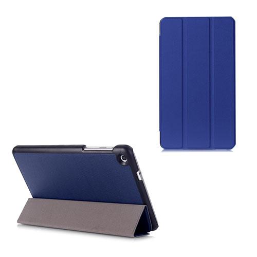 Gaarder Lines Huawei MediaPad M1 8.0 Läder Flip Fodral – Mörkblå