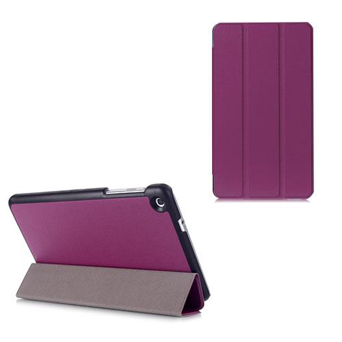 Gaarder Lines Huawei MediaPad M1 8.0 Läder Flip Fodral – Lila