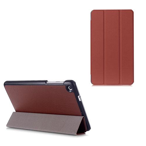 Gaarder Lines Huawei MediaPad M1 8.0 Läder Flip Fodral – Brun
