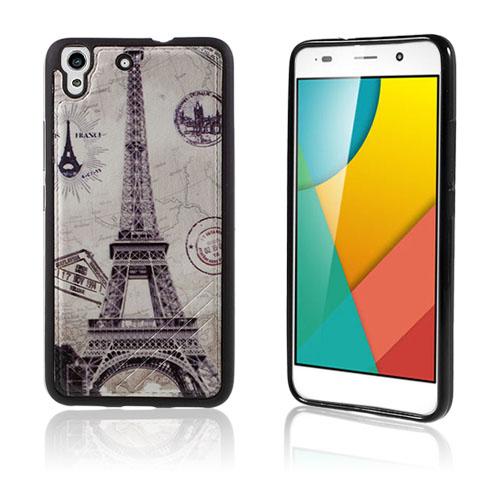 Freja Huawei Honor Y6 TPU Mjukt Skal – Eiffeltornet