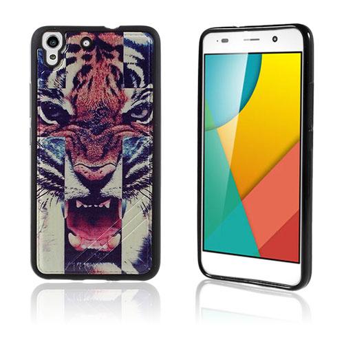 Freja Huawei Honor Y6 TPU Mjukt Skal – Fierce Tiger
