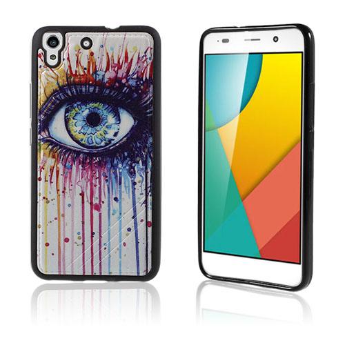Freja Huawei Honor Y6 TPU Mjukt Skal – Colorized Eye