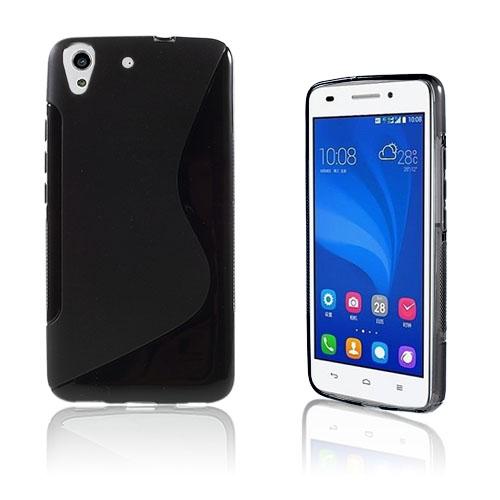 Lagerlöf Huawei Honor Y6 TPU Mjukt Skal – Svart