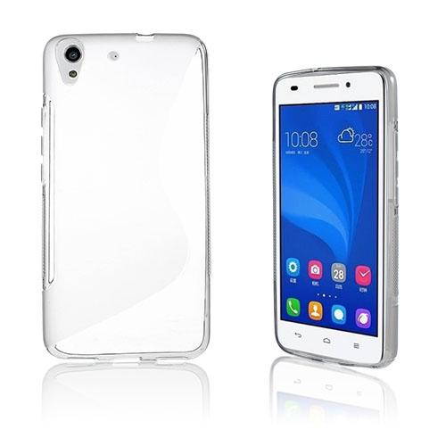 Lagerlöf Huawei Honor Y6 TPU Mjukt Skal – Transparant
