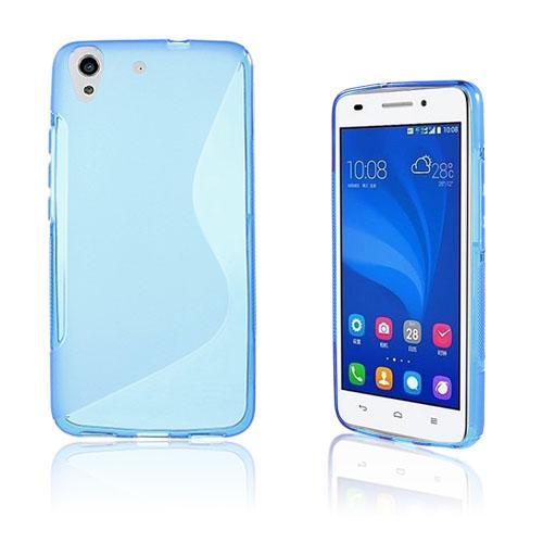 Lagerlöf Huawei Honor Y6 TPU Mjukt Skal – Blå