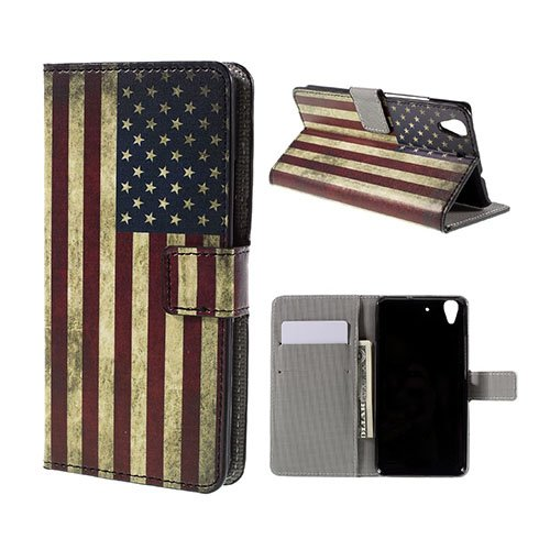 Moberg Huawei Honor Y6 Fodral – USA Flagga