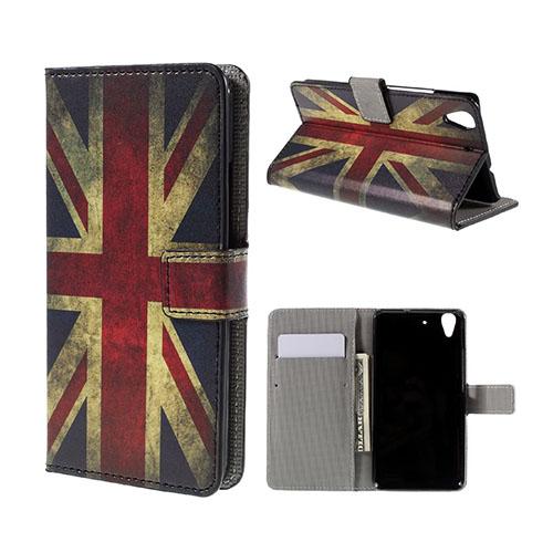 Moberg Huawei Honor Y6 Fodral – UK Flagga