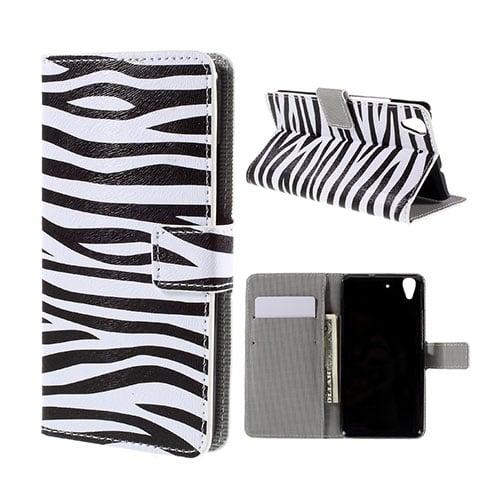 Moberg Huawei Honor Y6 Fodral – Zebra Ränder