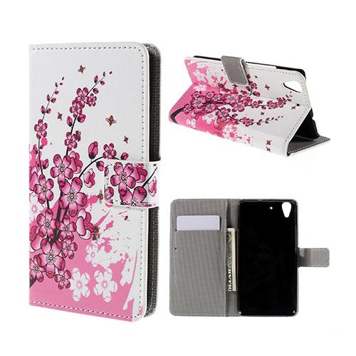 Moberg Huawei Honor Y6 Fodral – Plommon Blomma