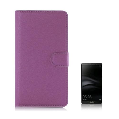 Moen Huawei Mate 8 Läderfodral med Plånbok – Lila