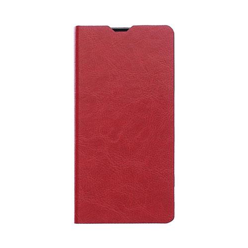 Amdrup Huawei Mate 8 Läderfodral med Stativ – Röd