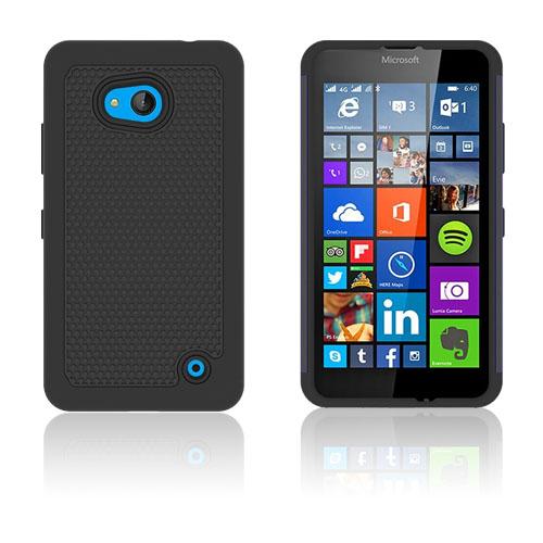 Football Grain Microsoft Lumia 640 Skal – Svart