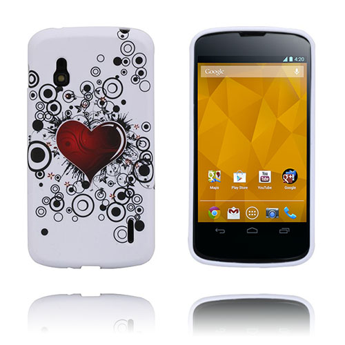Symphony (Rött Hjärta) LG Google Nexus 4 Skal
