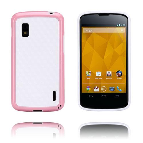 Delta (Ljusrosa) LG Google Nexus 4 Skal