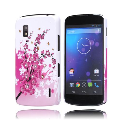 Princess (Rosa Flowered Bransch) LG Goolge Nexus 4 Skal