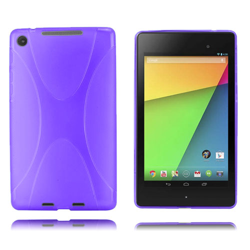 X-Line (Lila) Google Nexus 7 (2013) Skal