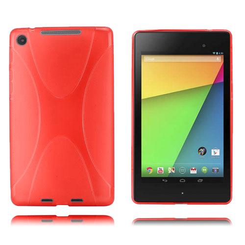 X-Line (Röd) Google Nexus 7 (2013) Skal
